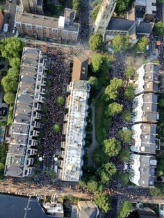 Notting Hill Carnival from above | 2013 as seen from Met helicopters | TimeOut London