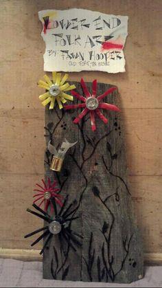 love this.....Shotgun Shell Flowers. $30.00, via Etsy.