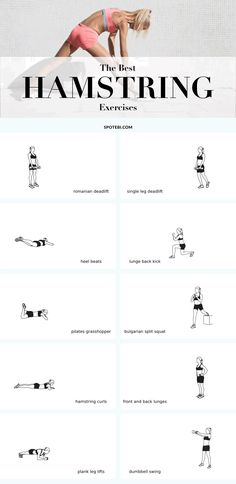 hamstring workout | Posted By: AdvancedWeightLossTips.com