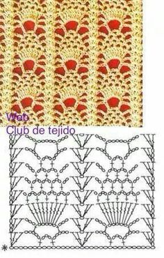 Watch This Video Beauteous Finished Make Crochet Look Like Knitting (the Waistcoat Stitch) Ideas. Amazing Make Crochet Look Like Knitting (the Waistcoat Stitch) Ideas. Filet Crochet, Crochet Motifs, Crochet Diagram, Crochet Stitches Patterns, Crochet Chart, Crochet Doilies, Crochet Lace, Stitch Patterns, Scarf Crochet