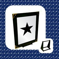 Online Shopping Perfect Gift Stylish Mirror Height: Width: To suit your needs, Package Includes; 4 x 4 Strong Self-Adhesive Hook & Loops; Custom Made Stand. Wall Hanger, Adhesive, Symbols, Letters, Mirror, Stars, Metal, Gifts, Stuff To Buy