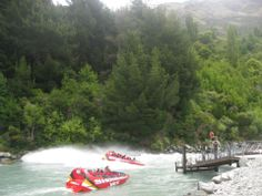 Shotover Jets on the Kawarau River, Queenstown New Zealand