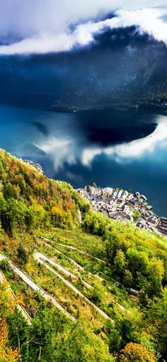 Amazing View of Hallstatt from the Top of Mountain, Austria | 30+ Truly Charming Places To See in Austria