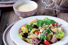 Rýžový salát s tuňákem Caprese Salad, Cobb Salad, Potato Salad, Salads, Potatoes, Ethnic Recipes, Nice Salad, Potato, Salad