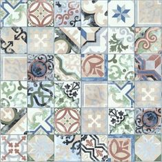 Keramische gekleurde portugese tegels 25x25 Tiles, Home And Garden, Blanket, Inspiration, Furniture, Patio, Website, House, Bags