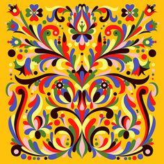 Kurbits Floral - Flip #78 by Chicken Billy, via Flickr