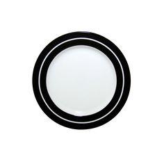Prato de Sobremesa Linen 19cm Branco - Schmidt