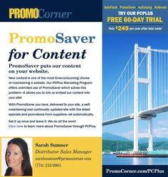 PromoSaver Creates Content, Automatically!