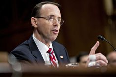 Deputy Attorney General Weirdly Warns Americans About  'Anonymous Allegations'