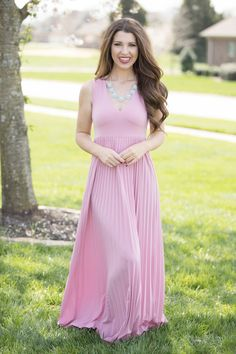 A Perfect Memory Maxi Dress - The Pink Lily
