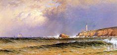 У моря... Alfred Thompson Bricher . Обсуждение на LiveInternet - Российский Сервис Онлайн-Дневников
