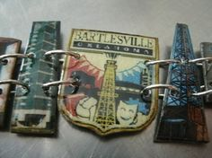 southern heidi belle. etsy. MY custom hometown bracelet. She can do most any city! NEAT gift idea. $65