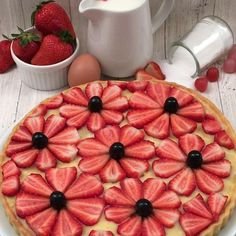 Discover recipes, home ideas, style inspiration and other ideas to try. Cupcake Recipes, Cupcake Cakes, Snack Recipes, Dessert Recipes, Snacks, Grill Dessert, Dessert Decoration, Cheesecake Decoration, Fruit Tart