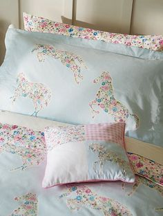 Little Sanderson Pretty Ponies bed linen