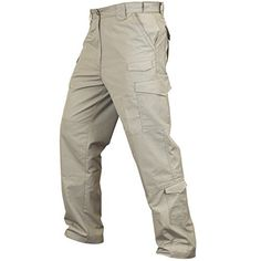Camp Clothing - Condor Sentinel Tactical Pants  Khaki 36W X 32L -- Click on the image for additional details.
