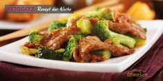 Broccoli and ginger beef stir fry recipe, Chinese food, best Chinese recipes Crock Pot Recipes, Stir Fry Recipes, Oven Recipes, Cooking Recipes, Healthy Recipes, Healthy Food, Ginger Beef, Baked Lasagna, Fried Beef