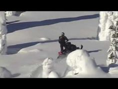 My all time favorite video of snowmobiling.