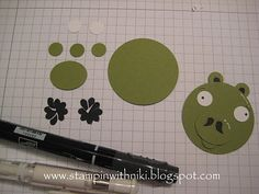 Stampin With Niki: Angry Birds Tutorial - Pig