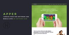 Apper - Landing Page by codenpixel Apper is a clean and elegant Landing Page Template. It will fit perfectly for startups, web App or any type of web services. FeaturesBootstrap 3  Owl CarouselBlog pageBlog postNOTE Images used in demo are not provided with downloa