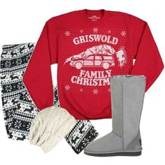 """""""Good Old fashioned Griswald Family Christmas"""" by rko4eve on Polyvore"""
