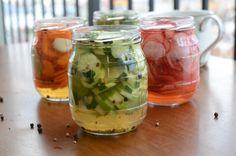 receita de picles de pepino agridoce