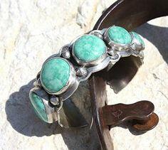 Jewelry :: GRADUATED STONE KINGMAN TURQUOISE CUFF BRACELET! - Native American Jewelry Ladies Western Wear Double D Ranch Ladies Unique High ...http://www.cowgirlkim.com/jewelry/graduated-stone-kingman-turquoise-cuff-bracelet.html