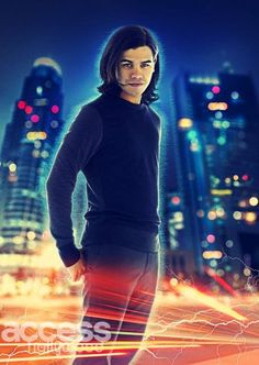 Carlos Valdes as Cisco Ramon / Vibe: A mechanical engineering genius, Cisco is the youngest member of the team of scientists at S.T.A.R. Labs. Valdes also portrays the Earth-2 version of the character, Cisco Ramon / Reverb
