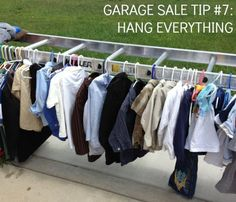 Resale Ideas Make Money 16 garage sale tips to make hundreds (thousands) at our next garage sale This is your chance to grab 100 great products WITH Master Resale Rights for mere pennies on the dollar! Garage Sale Organization, Garage Sale Tips, Garage Sale Pricing, Diy Garage, Organizing Ideas, Organization Hacks, Garages, Vida Frugal, Rummage Sale