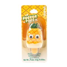Pucker Pops Pineapple Flavored Lip Gloss | Claire's