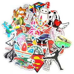 Classic Toys Knowledgeable 50 Pcs Graffiti Stickers For Skateboard Luggage Fridge Phone Toy Waterproof Laptop Bicycle Motorcycle Kids Stickers Pegatinas Crazy Price