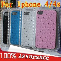 Free shipping Crystal Diamond Star back cover cell Phone Case for iphone 4g/4s, New design on AliExpress.com. $17.80