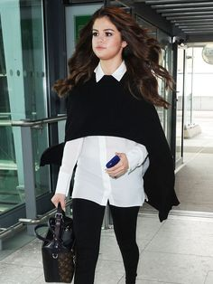 Selena Gomez Wore the Ankle Boots Every It Girl Owns via @WhoWhatWear