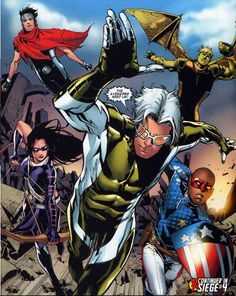 Young Avengers Springing Into Action