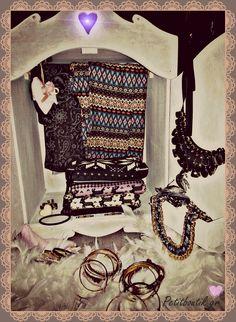 #dollhouse #leggings #multi colors #necklaces #Vintage #girly #romantic #love #heart