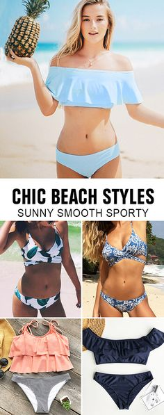 Treat yourself something special~ Stun in the sun with these chic beach styles. These pretties includes sporty tank-top, eye-catching prints and unique detailed designs. Smooth fabric & super supportive. Free shipping & shop now!