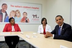 Barack And Michelle, Real One, Childrens Hospital, Vice President, Names, Health