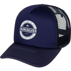 Quiksilver Everyday 3 Trucker Hat ( 18) ❤ liked on Polyvore featuring  accessories, hats f8890e6520
