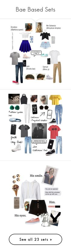 """Bae Based Sets"" by mystical-dimples ❤ liked on Polyvore featuring Converse, Vans, Casetify, Rebecca Minkoff, PS Paul Smith, Bellfield, Joseph, Rianna Phillips, Burberry and Chicwish"