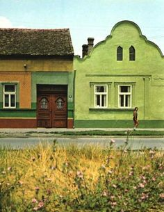 beautiful, old houses in Vojvodina