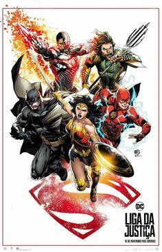Justice League 2017 Art