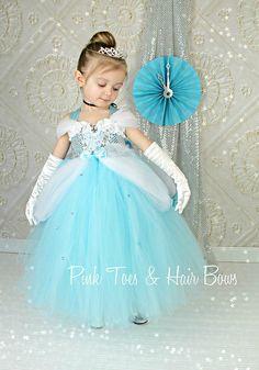 Traje del vestido de Cenicienta Cenicienta por GlitterMeBaby