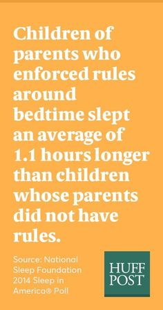 How to help your child get more sleep