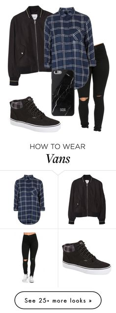 """""""Sk8er Boi"""" by eemaj on Polyvore featuring MANGO, Topshop, Vans, Native Union, women's clothing, women, female, woman, misses and juniors"""