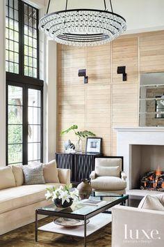Neutral Contemporary Living Room