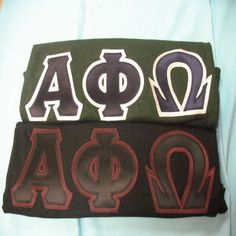 Exclusive Fraternity Apparel and Clothing Package. Alpha Phi Omega, Fraternity, Packing, Bag Packaging
