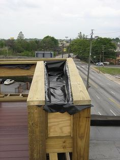 Cedar Deck With Planter Boxes Deck Planters Cedar 400 x 300