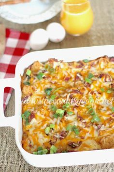 The Country Cook: Tater Tot Breakfast Casserole
