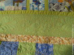 Купить Большое лоскутное одеяло плед Источник - одеяло, плед, одеяло для девочки, квилт