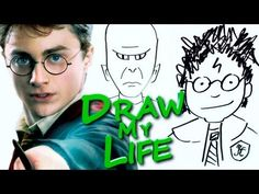 Draw my Life Harry Potter Edition (still got watery eyed at Fred's death...even in cartoon form, always do...)