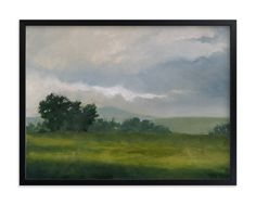 """""""Broken Clouds"""" - Limited Edition Art Print by Stephanie Goos Johnson in beautiful frame options and a variety of sizes."""